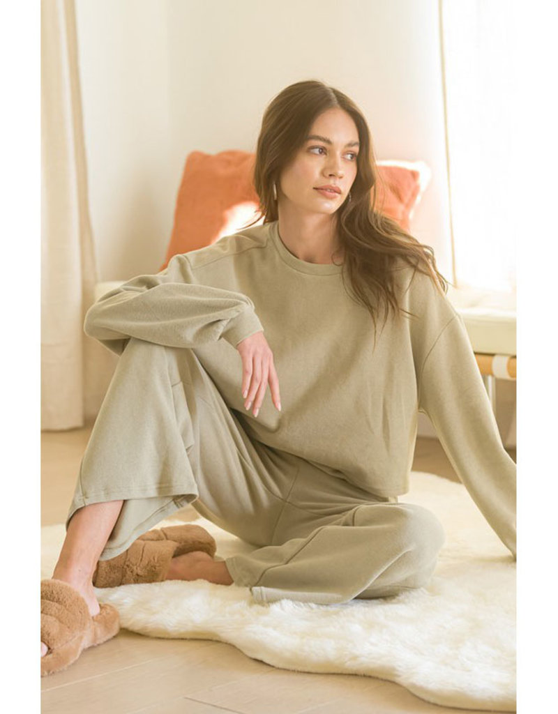 Listicle Knit Lounge Set