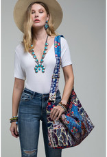 Urbanista Hand Stitched Patchwork Travel Bag