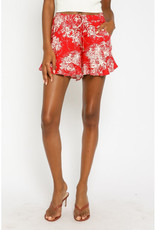 Olivaceous Painted Island Shorts