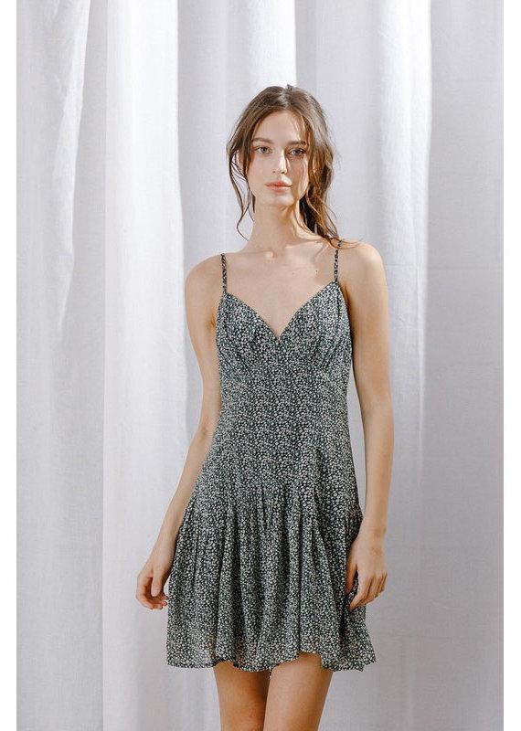 Storia Moss Daisy Mini Dress