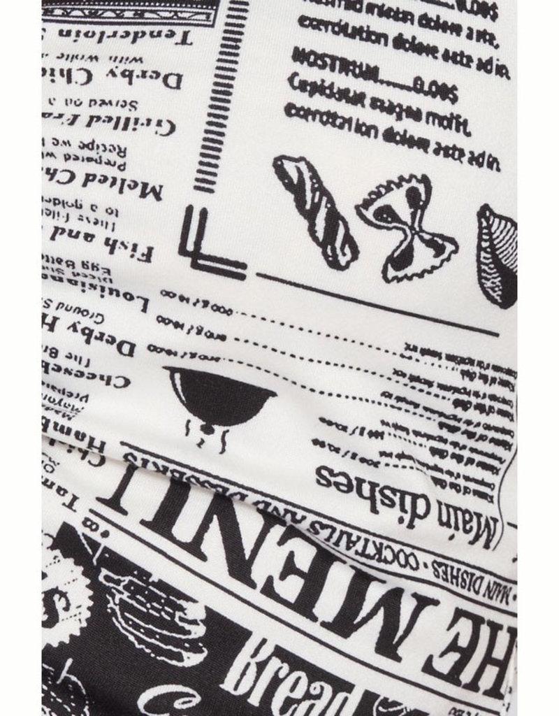 Emory Park Newspaper Print Flares