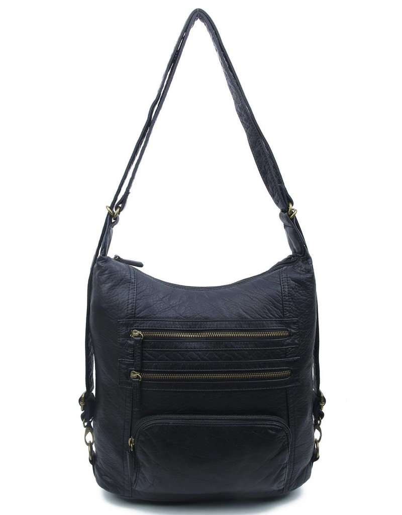 Ampere Creations Vegan Leather Lisa Convertible Backpack