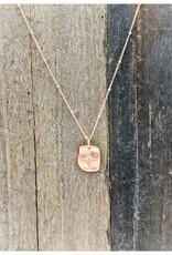 Waterlily Jewelry #825 Rose Gold CZ Starburst