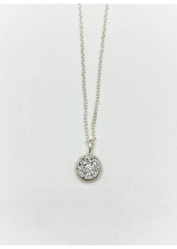 Waterlily Jewelry #822 Stering Druzy