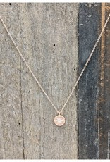 Waterlily Jewelry #794 Rose Gold CZ Starburst
