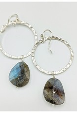 Waterlily Jewelry #813 Sterling Labradorite