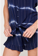 En Creme Tie Dye Cami & Short Set