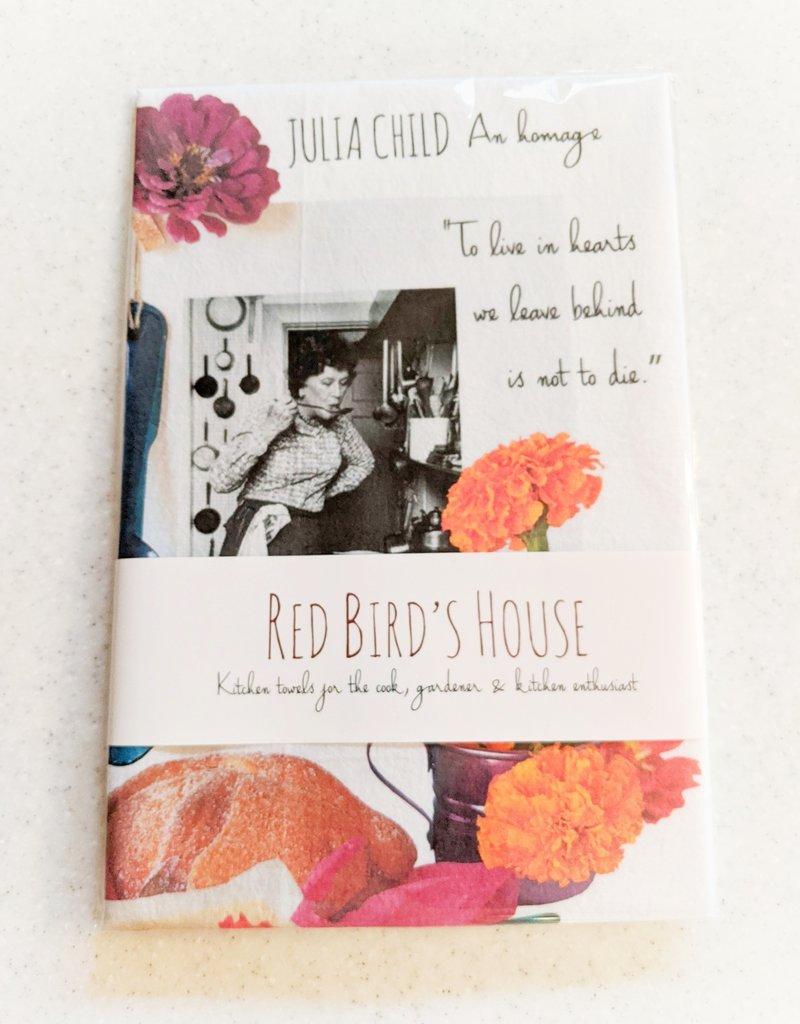 Red Bird's House Red Bird Kitchen Towel