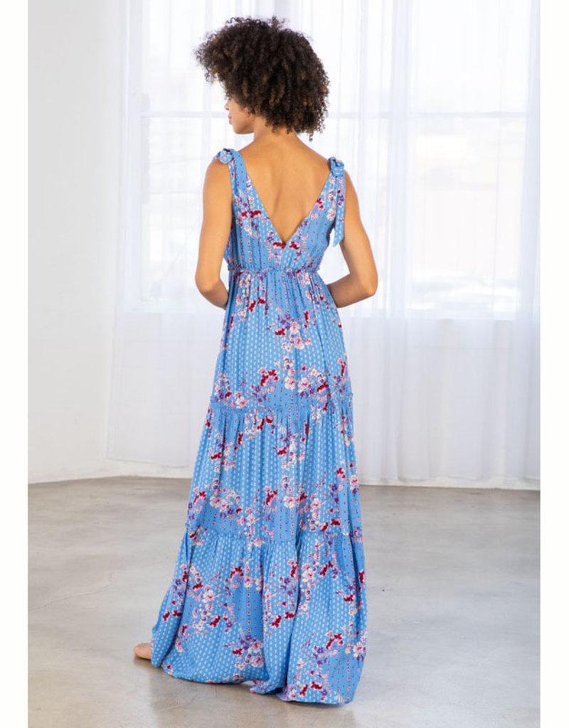 Lovestitch Floral Boho Maxi Dress