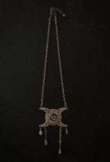Trollbinde Triple Goddess Moon Necklace