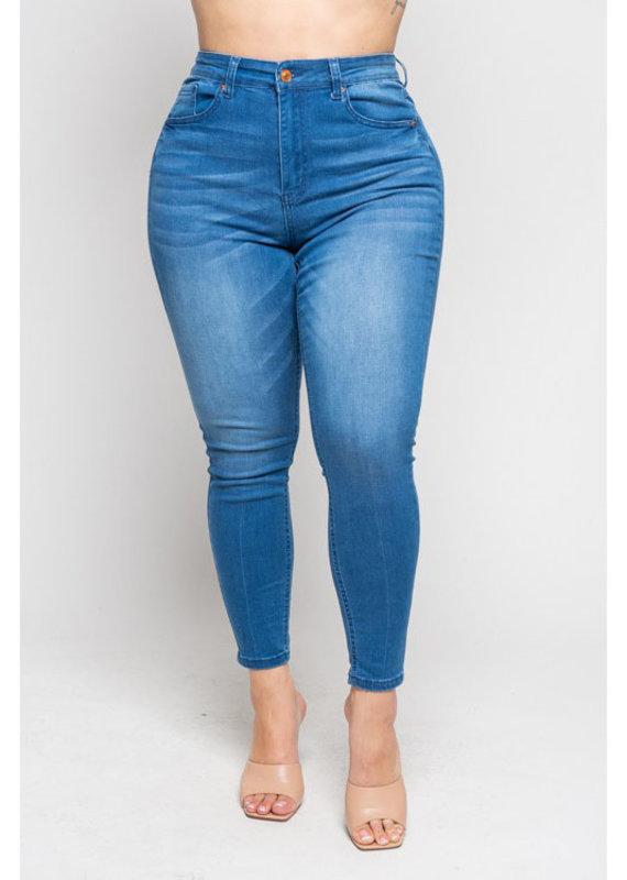 Merveille High Waist Skinny Jeans