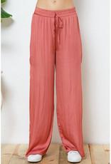 blue b. collection Satin Wide Leg Pants