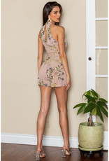 One and Only Collective Floral Print Romper