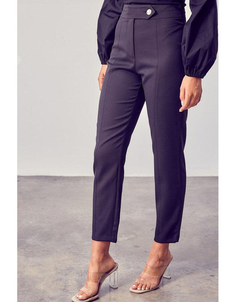 Do + Be Black High Waist Trouser