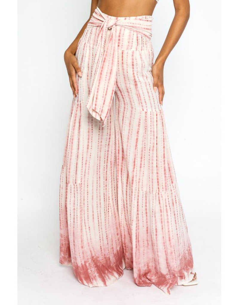 Olivaceous Blush Tie Dye Lounge Pants