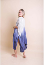 Leto Accessories Ombre Boho Kimono