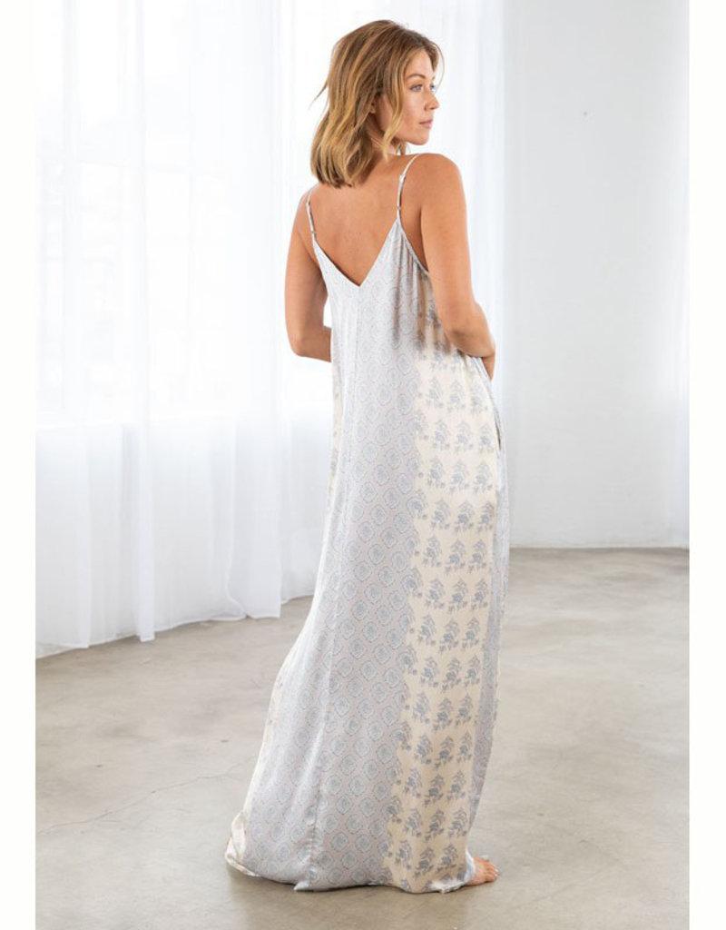 Lovestitch Slouchy Print Maxi Dress