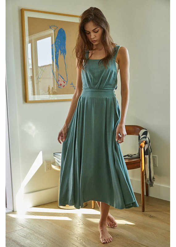 by together Midi Overall Dress