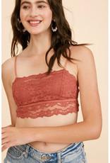 Listicle Lace Bralette w/Removable Straps