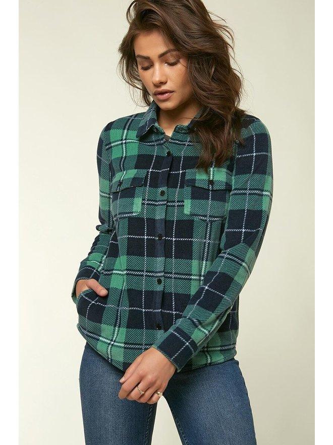ONEILL Womens Superfleece Long Sleeve Pullover Hooded Sweatshirt