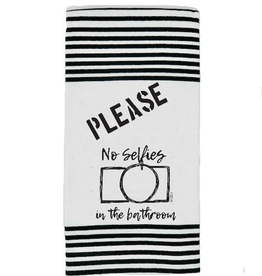 Twisted Wares Twisted Wares Terry Towel Please No Selfie