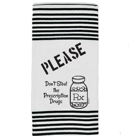 Twisted Wares Twisted Wares Terry Towel Please Don't Steal the RX