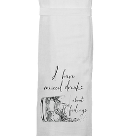 Twisted Wares Twisted Wares Tea Towel Mixed Drinks