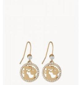 Spartina Mermaid Earrings Gem