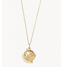 "Spartina Around the World Revolve Necklace 29"""