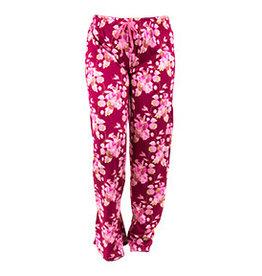 Hello Mello Pants Magenta Floral (S/M)