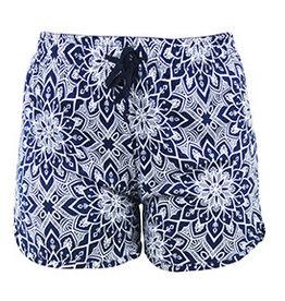 Hello Mello Shorts Blue/White Lotus (M/L)