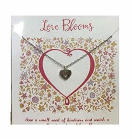 Love Blooms Necklace silver
