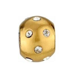 ABC Mini Dottie Bead gold