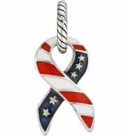 ABC Patriotic Ribbon Charm