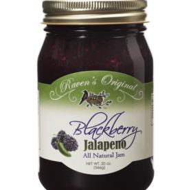 Ravens Blackberry Jalapeno Jam