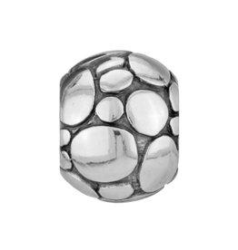 ABC Pebble Bead silver