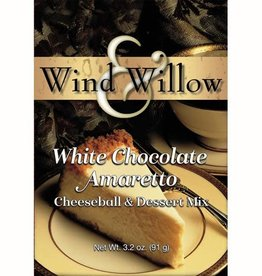 Wind Willow Wind & Willow White Chocolate Ameretto Cheeseball Mix