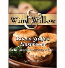 Wind Willow Wind & Willow Bacon Stuffed Mushroom Savory Cheeseball Mix