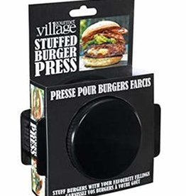 Gourmet Du Village - Burger Press Stuffed Burgers