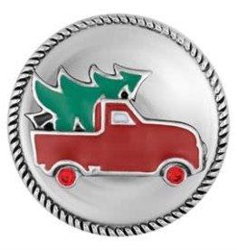 Gingersnap Vintage Holiday Truck Regular Snap