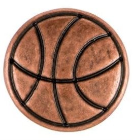 Gingersnap Copper Basketball Petite Snap