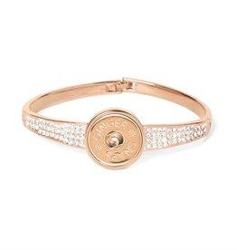 Gingersnap Regular Bracelet - Stones Galore Rose Gold