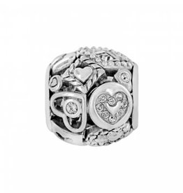 Shapes of Love Bead silver