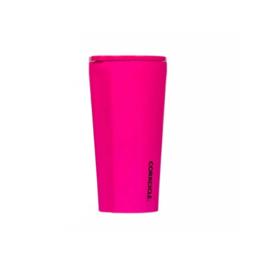 CORKCICLE 16oz Tumbler Neon Lights Neon Pink