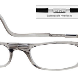 Clic Reading Glasses Smoke Expandable 1.75
