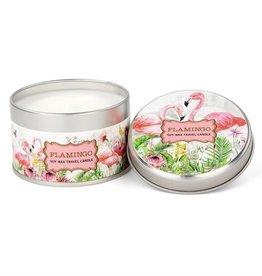 Flamingo Travel Candle