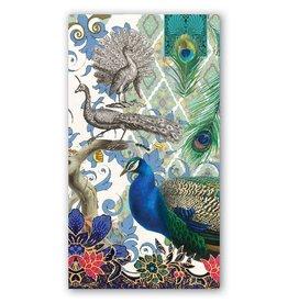 Peacock Hostess Napkin