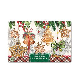 Holiday Treats Paper Placemats