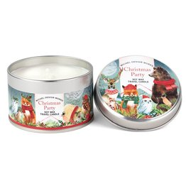 Christmas Party Travel Candle