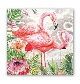 Flamingo Luncheon Napkin